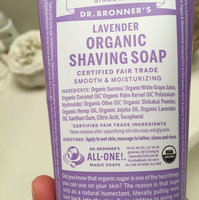 Dr. Bronner's Lavender Organic Shaving Soap uploaded by Paige R.