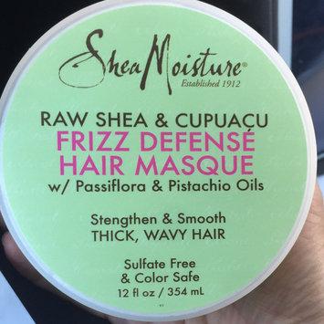Photo uploaded to SheaMoisture Raw Shea & Cupuaçu Frizz Defense Hair Masque by Miranda P.