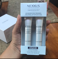 NEXXUS® EMERGENCÉE TREATMENT FOR DAMAGED HAIR uploaded by Adelina G.