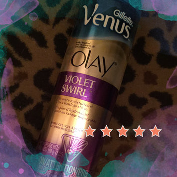 Photo of Gillette Venus Ultramoisture Violet Swirl Shave Gel with Olay uploaded by Wendy C.