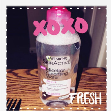Garnier Skinactive Micellar Cleansing Water All-in-1 Makeup Remover & Cleanser 3 oz uploaded by Allison B.