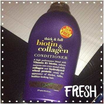 OGX® Biotin & Collagen Conditioner uploaded by Amaya G.