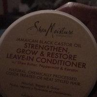 SheaMoisture Jamaican Black Castor Oil Strengthen, Grow & Restore Treatment Masque w/ Shea Butter, Peppermint & Keratin uploaded by Marjorie S.