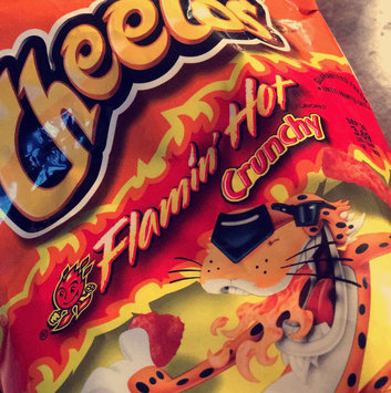 CHEETOS® Crunchy Flamin' Hot® Cheese Flavored Snacks uploaded by Sam K.