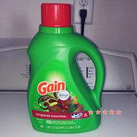 Gain 2X Tropical Sunrise Hec Liquid Laundry Detergent, 64 Loads, 100 Fl oz uploaded by Jasmine M.