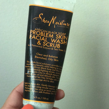 SheaMoisture African Black Soap Problem Skin Facial Wash & Scrub uploaded by Maria A.