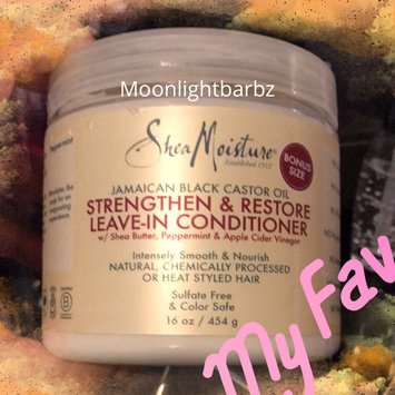 SheaMoisture Jamaican Black Castor Oil Strengthen, Grow & Restore Leave-In Conditioner uploaded by Barbara B.