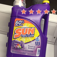 SUN® Tropical Breeze® 125 Loads Laundry Detergent 188 fl oz Jug uploaded by Wendy C.