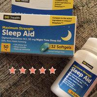 DG Health Maximum-Strength Sleep Aid Softgels - 32 ct uploaded by Wendy C.