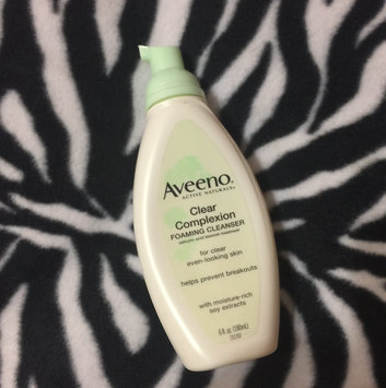 Photo of Aveeno Clear Complexion Foaming Cleanser uploaded by LaQuishia M.