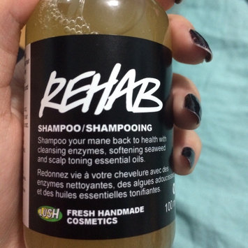 LUSH Cosmetics Rehab Shampoo uploaded by Michelle Y.