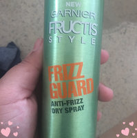 Garnier Fructis Style Frizz Guard Anti-Frizz Dry Spray uploaded by Erica D.