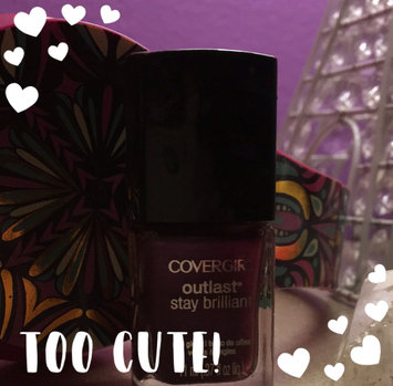 Photo of COVERGIRL Outlast Stay Brilliant Nail Gloss uploaded by Sheree C.