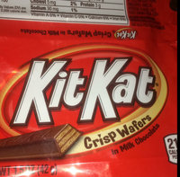 Kit Kat Crisp Wafers in Milk Chocolate uploaded by Keerien M.