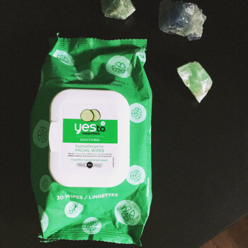 Photo of Yes To Cucumbers Shooting Hypoallergenic Facial Wipes uploaded by Syndi B.