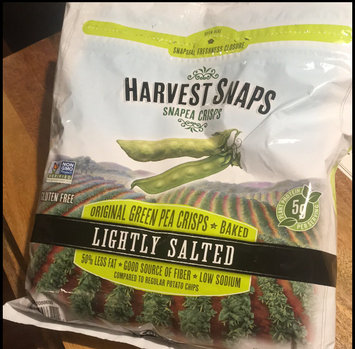 Photo of Harvest Snaps Snapea Crisps Lightly Salted uploaded by Katie C.