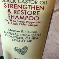 SheaMoisture Jamaican Black Castor Oil Strengthen & Grow Shampoo uploaded by Teresa C.