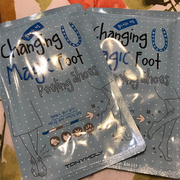 Tony Moly Foot Peeling Shoes uploaded by Michelle A.
