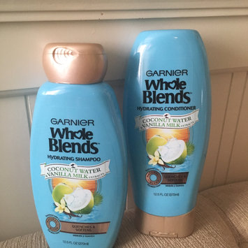 Garnier® Whole Blends™ Coconut Water & Vanilla Milk Extracts Hydrating Shampoo 12.5 fl. oz. Bottle uploaded by Millitac C.