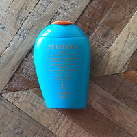 Shiseido Ultimate Sun Protection Lotion Wetforce SPF 50+ uploaded by Larissa L.