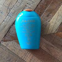 Shiseido Ultimate Sun Protection Lotion Wetforce SPF 50+ uploaded by Larissa L.