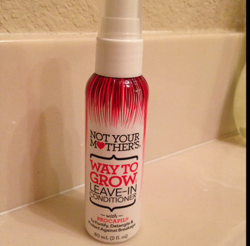 Photo of Not Your Mother's® Way to Grow Leave-In Conditioner uploaded by Marissa M.