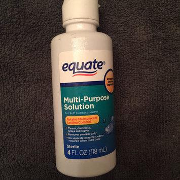 Photo of Equate Sterile Multipurpose Solution 4 Fl Oz uploaded by Tayler H.