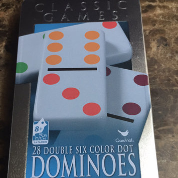 Photo of Cardinal Zin Dominoes Double 6 dot uploaded by Yakelin M.