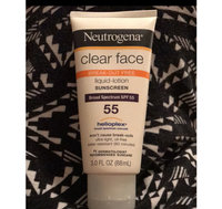 Neutrogena Clear Face Liquid Lotion Sunscreen Broad Spectrum SPF 55 uploaded by Courtney S.