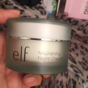 Photo of e.l.f. Skincare Nourishing Night Cream uploaded by Ciara B.
