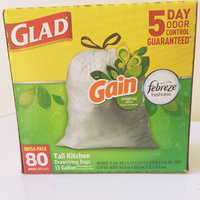 Tall Kitchen Drawstring 13 Gallon Trash Bags, Gain Original Scent 4 of 80CT uploaded by Gia J.