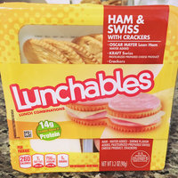 Lunchables Oscar Mayer Ham & Swiss with Crackers uploaded by Leanne r.