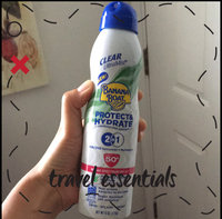 Banana Boat Protect And Hydrate Sunscreen Clear UltraMist Spray With SPF 50 uploaded by Karen J.