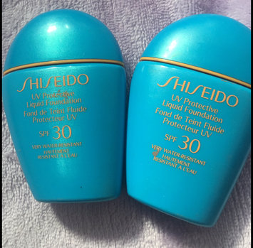 Photo of Shiseido Sun Protection Liquid Foundation SPF 30 to SPF 70 Foundation for Unisex, 1 Ounce uploaded by Katerina P.