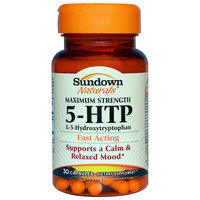 Sundown Naturals 5-HTP Dietary Supplement Capsules uploaded by April M.