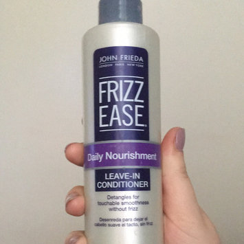John Frieda Frizz-Ease Daily Nourishment Leave-In Conditioning Spray uploaded by Abby M.