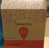 Summer's Eve Cleansing Cloths for Sensitive Skin uploaded by Krista G.