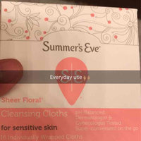 Summer's Eve Cleansing Cloths for Sensitive Skin uploaded by Elizabeth T.