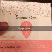 Summer's Eve Cleansing Cloths for Sensitive Skin uploaded by Elizabeth T.