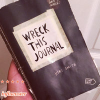 Wreck This Journal (Black) Expanded Ed. uploaded by Elizabeth R.