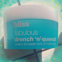 bliss fabulous drench 'n' quench moisturizer uploaded by Jasmine J.
