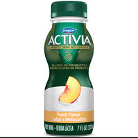 Activia Drinks 7 Fl Oz Ss Peach    uploaded by julora l.
