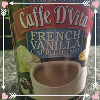 Caffe D'Vita Sugar Free French Vanilla Cappuccino Mix, 8.5-Ounce Canisters (Pack of 6) uploaded by LIZ S.