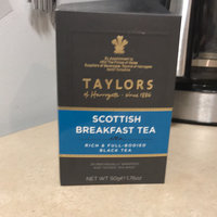 Taylors Of Harrogate Black Tea Scottish Breakfast Tea 20-Count Wrapped Tea Bags - -Pack of 6 uploaded by Shelby G.