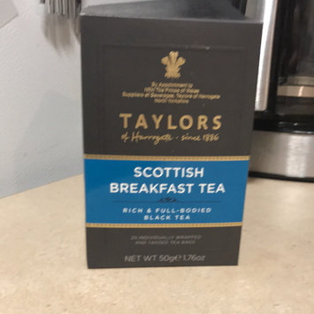 Photo of Taylors Of Harrogate Black Tea Scottish Breakfast Tea 20-Count Wrapped Tea Bags - -Pack of 6 uploaded by Shelby G.