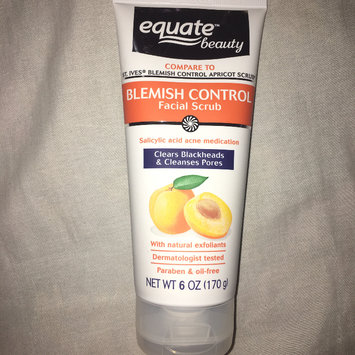 Equate Beauty Blemish Control Apricot Scrub, 6 oz uploaded by Nishka ❁.