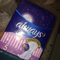 Always Maxi Size 5 Extra Heavy Overnight Pads with Wings Unscented uploaded by Evelyn H.
