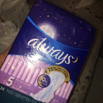Photo of Always Maxi Size 5 Extra Heavy Overnight Pads with Wings Unscented uploaded by Evelyn H.