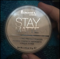 Rimmel London Stay Matte Pressed Powder uploaded by Sevanah P.