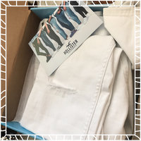 Hollister Ripped White High-Rise Super Skinny Jeans uploaded by nevaeh c.